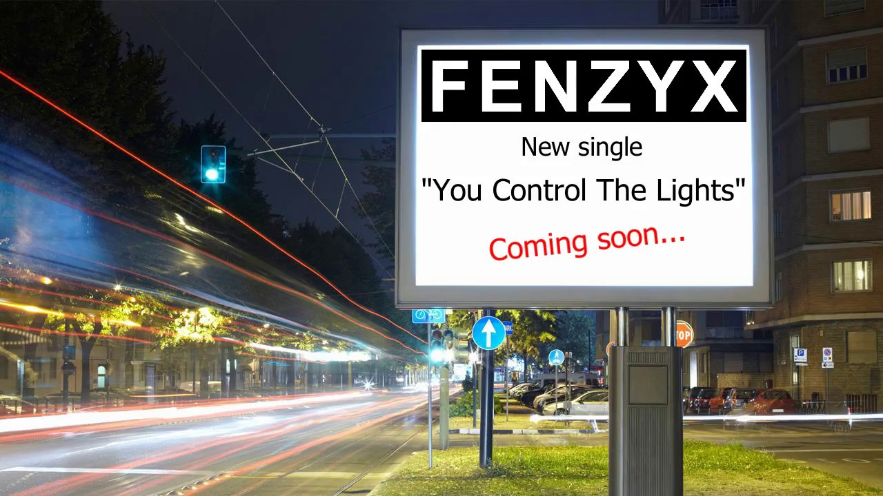 Promo for 'You Control The Lights'