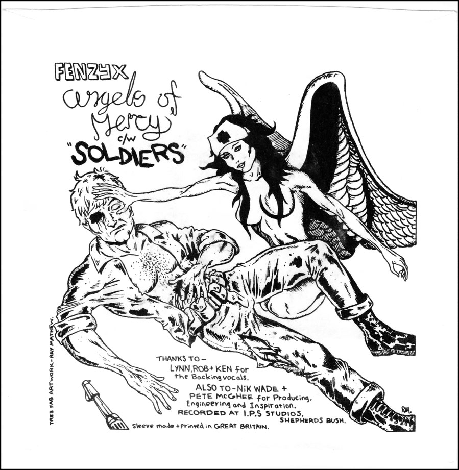 Fenzyx Soldiers c/w Angels of Mercy back