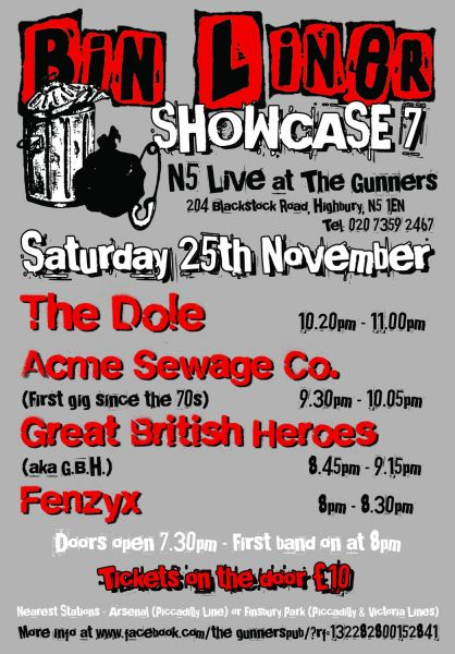 Bin Liner Showcase Flyer