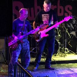 Tony and Jim at Under The Covers Wedfest, Suburbs at The Holroyd, Guildford 12th August 2019